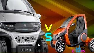 Casple Podadera Electric-Car VS ELI Zero-Emission Electric-Car//Review, Features, and Full Specs