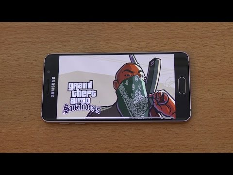 Samsung Galaxy A3 (2016) Gaming Review GTA San Andreas (4K)