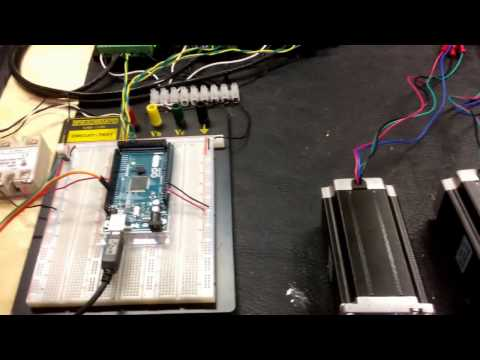 Build your own Arduino controlled BuildersBot CNC/3D printer