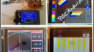 32#034; 240x320 Touch TFT LCD Module Screen Display