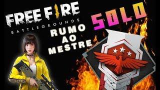 🔴 FREE FIRE RUMO AO MESTRE SOLO É HOJE, OVOS VERDES
