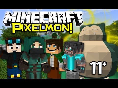 Minecraft PixelCore PIXELMON Let's Play! - Ep11 (Tree Tops!)