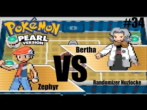 Pokémon Pearl Randomizer Nuzlocke LP | Ep 34 | VS 2nd Elite 4 Member Bertha!