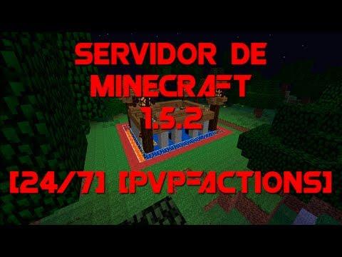 Servidor de minecraft 1.5.2 survival PVP y Creativo 24/h No premium sin hamachi