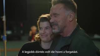 Terminator 6:Dark Fate 2019, Behind the Scenes in Hungary(Arnold Schwarzenegger Featurette)