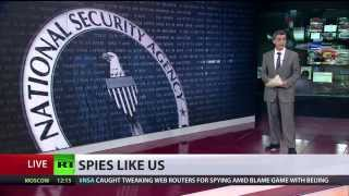 'No Place to Hide  (NSA) altered web routers to spy on intl users? 5/20/14
