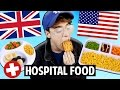 AMERICAN vs. BRITISH Hospital Food
