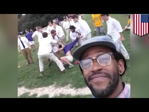 LSU fight video goes viral and banned from YouTube, gives rise to 'smh black man' meme