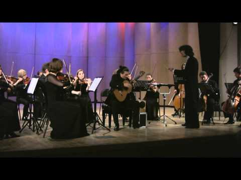 Artyom Dervoed - Mauro Giuliani - Concerto for Guitar and Orchestra No.1, part II