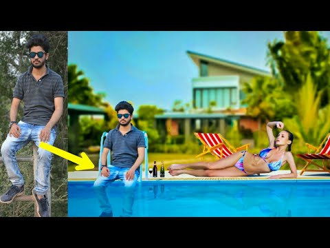 Picsart Swimming Pool Edit | Photoshop Manipulation | Picsart Editing Tutorials