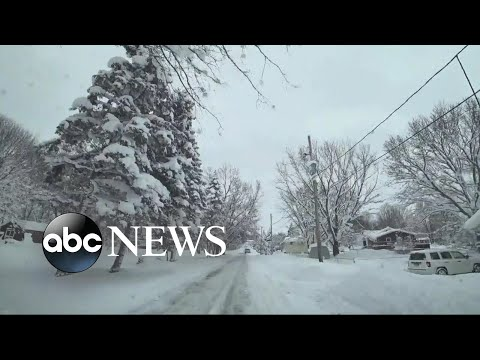 Dangerously cold weather is enveloping more than half of the US