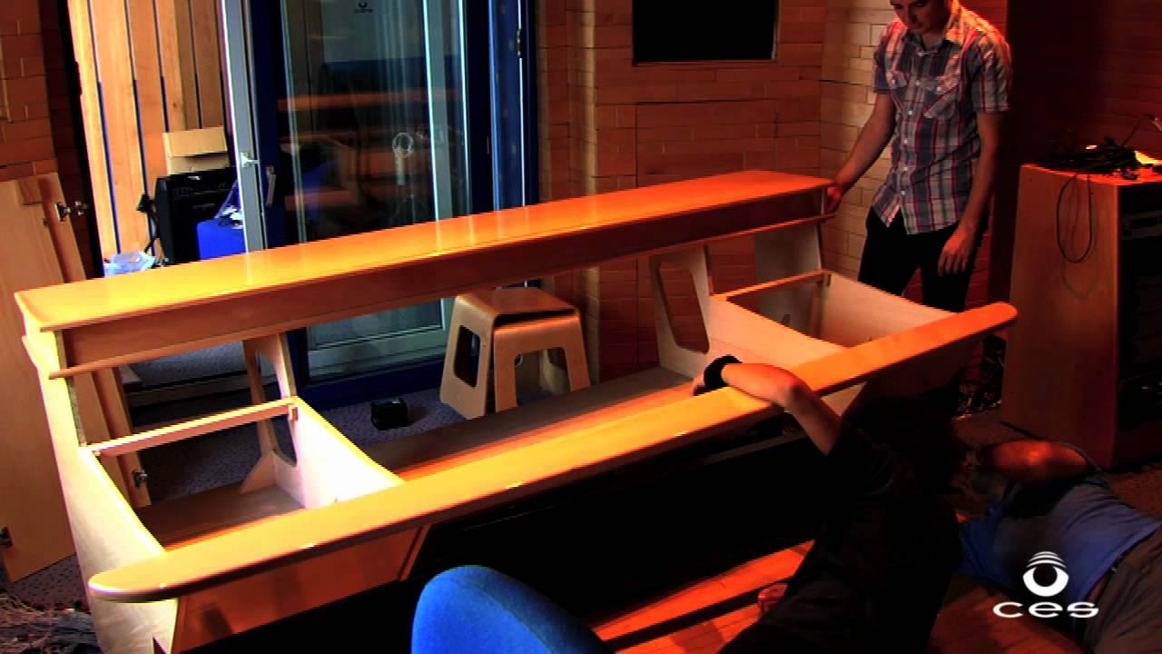 Montaje mesa de mezclas solid state aws 924 youtube - Mesas de estudio de diseno ...
