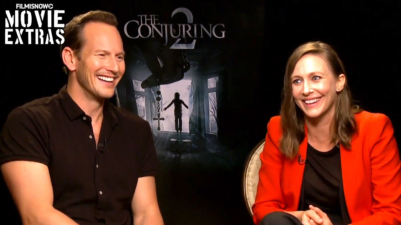 Vera Farmiga & Patrick Wilson talk about The Conjuring 2 (2016)
