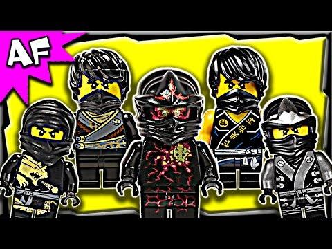 Lego Ninjago Cole Black Ninja Minifigure Complete Collection video