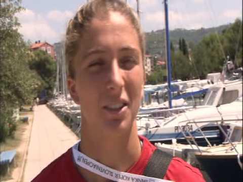 Sara Errani @ Banka Koper Slovenia Open 2009 - Finals