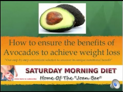 How to ensure the benefits of Avocados to achieve weight loss