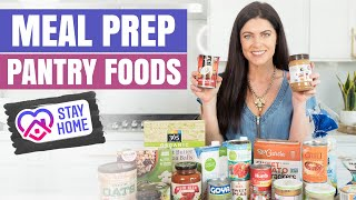 Healthy Meal Prep with ONLY Pantry Foods & Nonperishables | Easy Meal Ideas