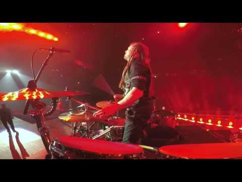 """Barry Kerch's GoPro Drum Cam """"Cut The Cord"""" Live from Denver thumbnail"""