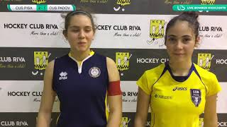 🏑 Highlights #U18F #Indoor ~ CUS Pisa 🆚 CUS Padova 🥅