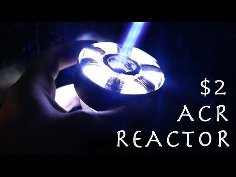 Make a $2 Iron Man ARC REACTOR! - Burning Laser, Actually Works!!!