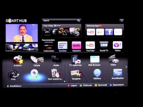 Samsung D7000 D8000 Smart TV