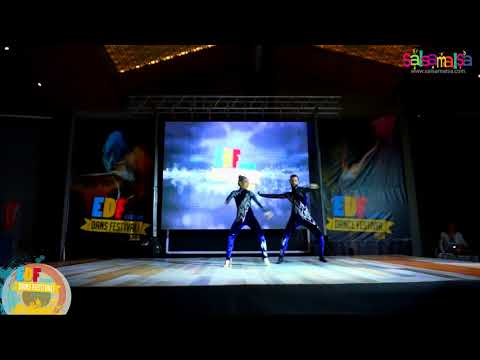 Gizem - Salim Salsa Street Fusion Show | EDF-2018