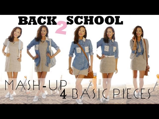 BACK 2 SCHOOL - MASH UP 4 BASIC PIECES