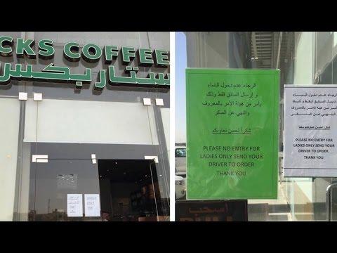 Saudi Arabia Starbucks Kicks Out Women