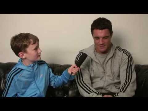 Dan Carter Interviewed by 9 year old Jasper Mather