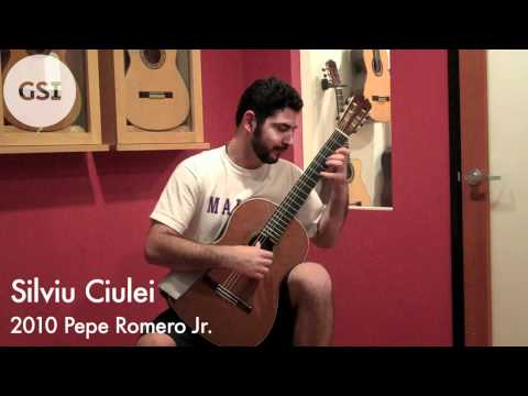 Silviu Ciulei - 2010 Pepe Romero Jr.: Classical Guitar at Guitar Salon International