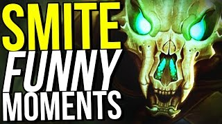 I QUIT. (Smite Funny Moments)