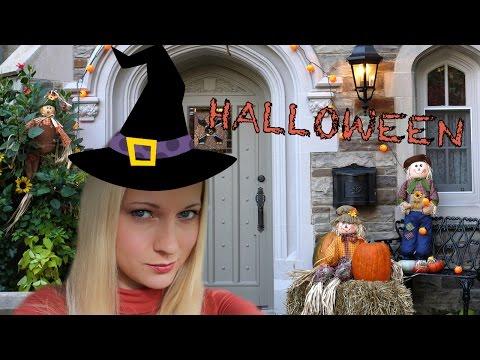 Хэллоуин в Америке праздник Halloween Декор домов в США