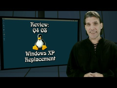 Q4 OS - Debian Based Windows XP Replacement