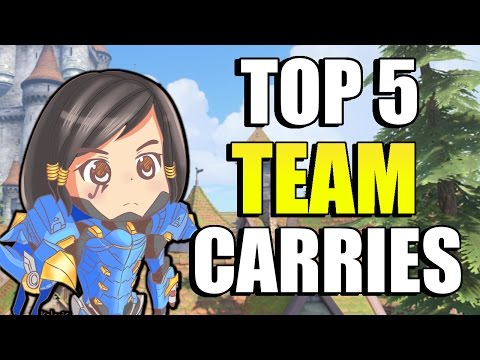 Top 5 Carry Team Killers That WILL WIN YOU GAMES!!   Overwatch Solo Queue Carry Heroes Season 4