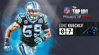 #07 Luke Kuechly (LB, Panthers) Top 100 Players of 2016