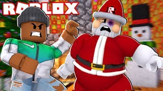 I FOUGHT SANTA CLAUS! - Roblox Roleplay