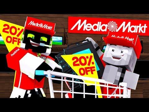 ARBEITEN beim MEDIA MARKT!? - Minecraft [Deutsch/HD]