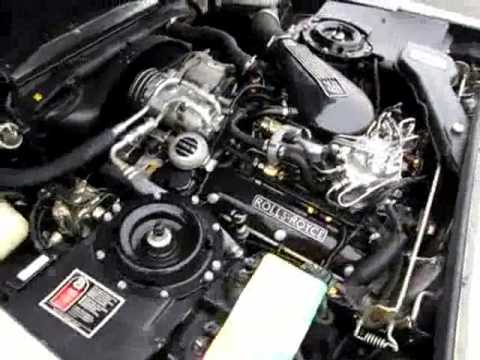 1989 Rolls-Royce Silver Spirit II Engine Running Video