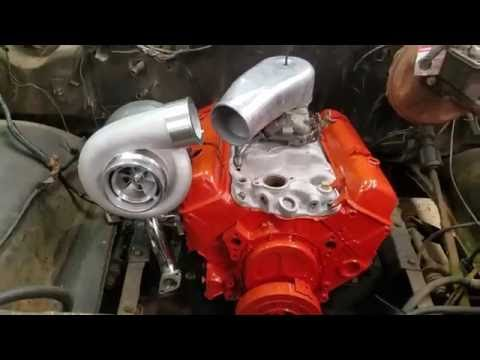 Ebay GT45 Small Block Chevy Turbo Kit Unboxing.