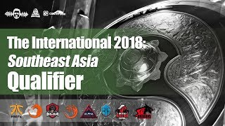 [DOTA 2 LIVE PH] TnC Pro Team VS Fnatic |Bo3|  FINALS The International - Regional Qualifiers