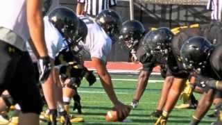 Towson Football wraps up summer camp with Media Day and scrimmage