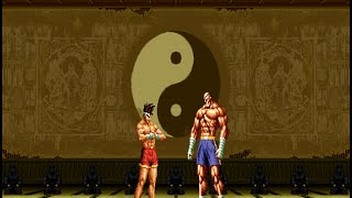 [KOF VS. Street Fighter] Joe Higashi VS. Sagat