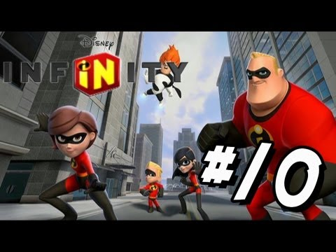 Disney Infinity Wii U - Walkthrough Part 10 The Incredibles Dash run fast!