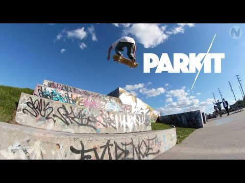 "SKATE LOCAL - ""PARK IT"" FEATURING BRYAN BARBIER : LEGACY SKATEPARK OTTAWA, CANADA"