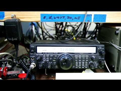 CQWW DX SSB 2011: M4A in Wisconsin (W9) on 40m