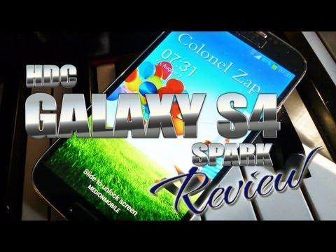 HDC Galaxy S4 Spark Review - MT6589 Quadcore -- Gesture Control -Samsung S5 Clone?  ColonelZap