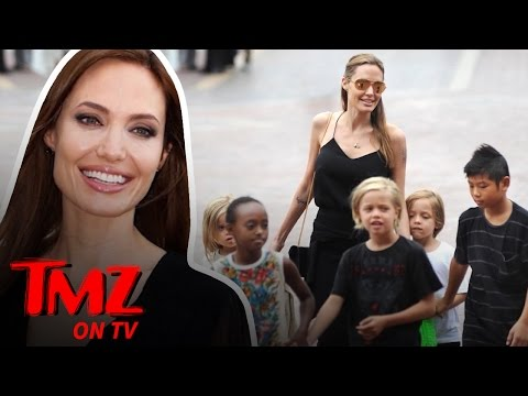 Angelina Jolie – U.N. Secretary-General?! | TMZ TV