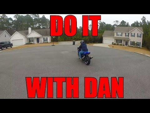 Teaching My Friend How To Ride A Motorcycle