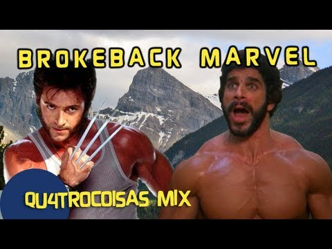 BROKEBACK MARVEL - Qu4tro Coisas Mix