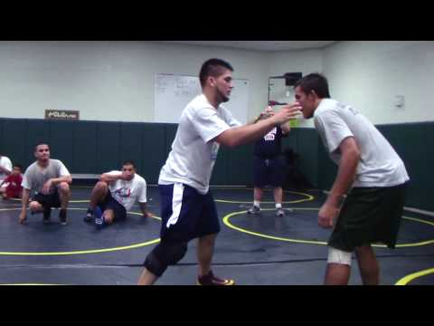 Angel Cejudo Finish Your Takedown Drill Hard Freestyle Folkstyle Wrestling Image 1